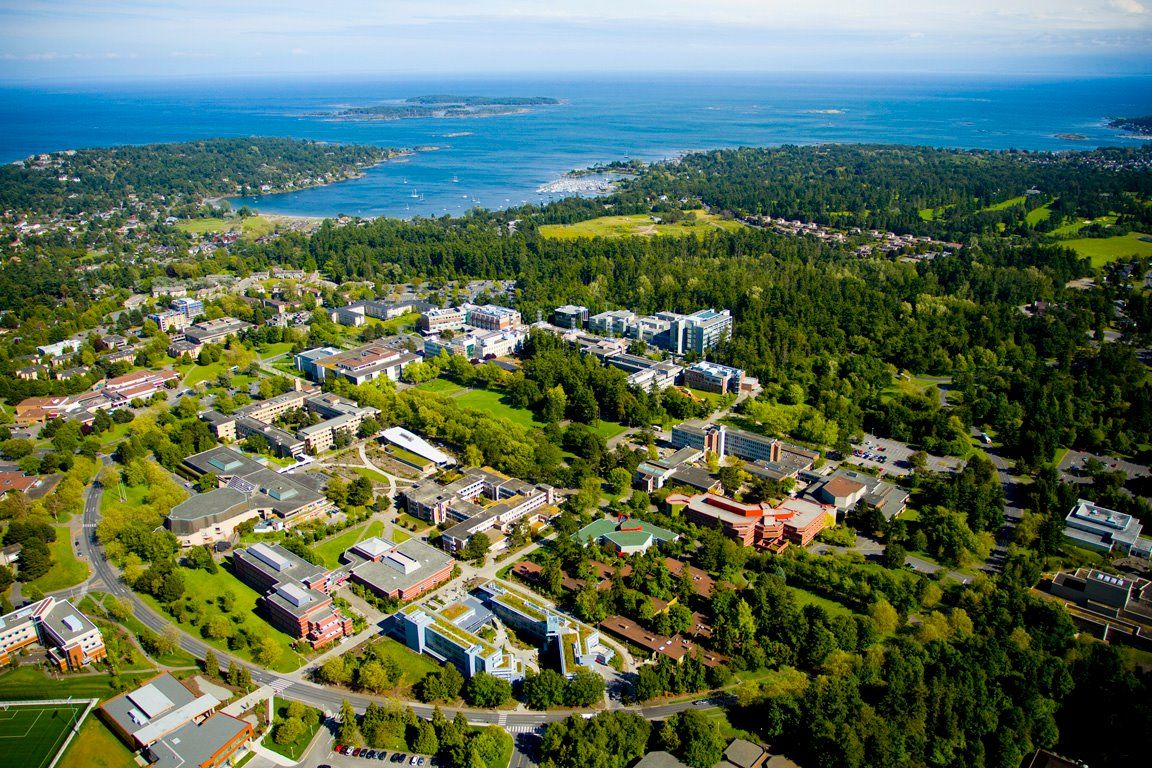 University of Victoria Campus and grounds | University of victoria, Canadian  universities, Victoria canada