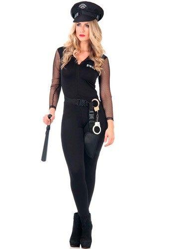 0f1e459b9 Com a nova Fantasia de Policial Feminina Adulto Heat Girls, mais uma linda  fantasia para você arrasar nas festas. Aproveite!<br><!