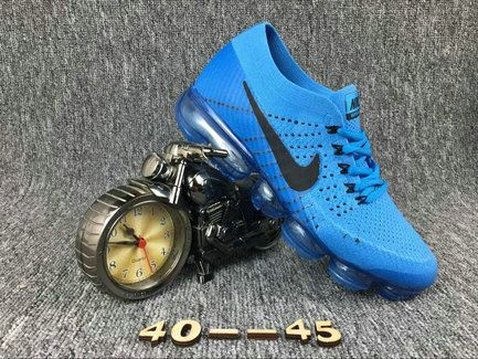 save off 367f1 cadba Cheapest And Latest New Arrival Cheapest Nike Air Vapormax Flyknit Mens  SkyBlue Black Shoes