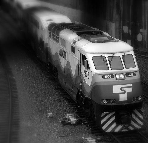 Sounder Commuter Train In Seattle Train Commuter Train Commuter