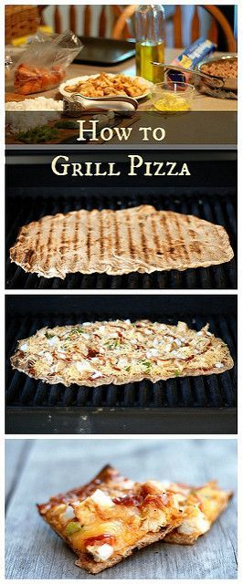 How to Grill Pizza - Buttered Side Up