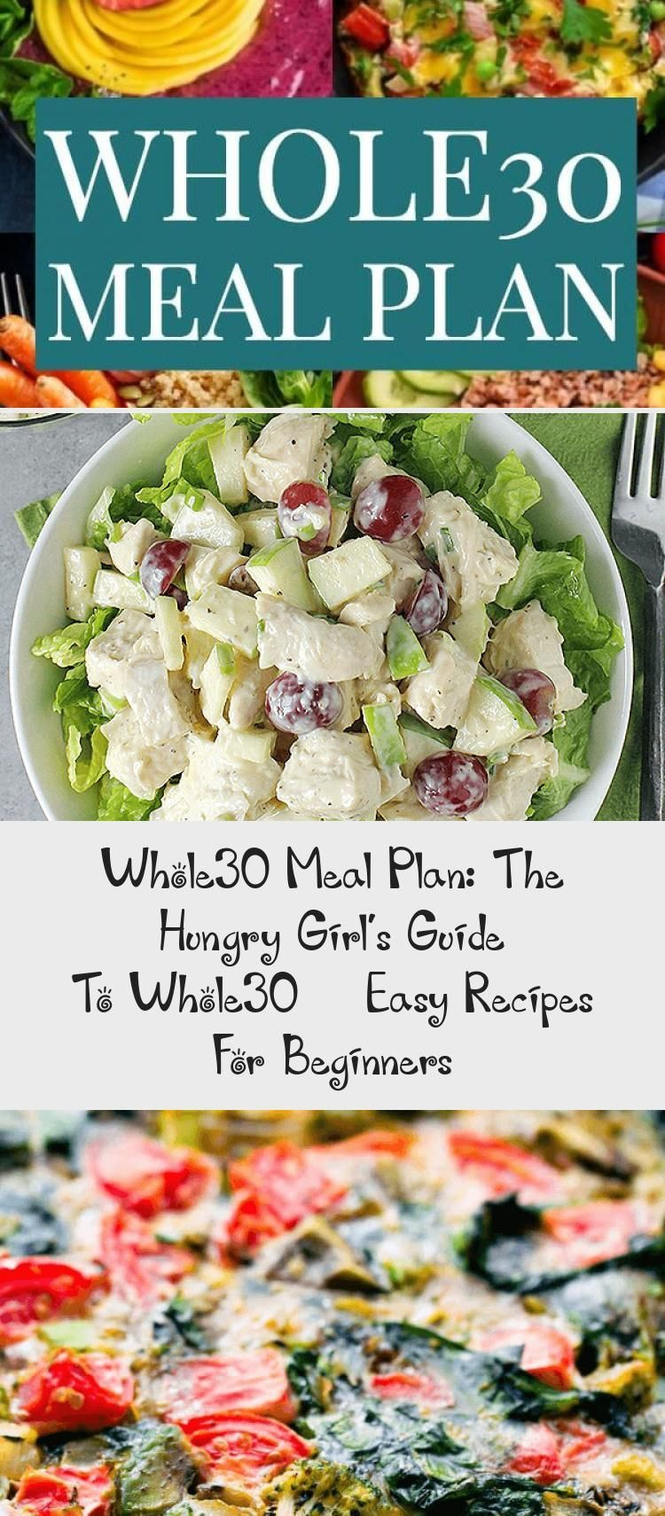 Whole30 Meal Plan The Hungry Girls Guide To Whole30  Easy Recipes For Beginners  Dinner Recipes