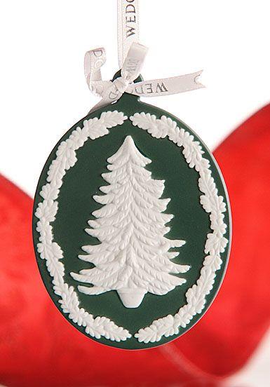 Wedgwood Addobbi Natale.Wedgwood Ornament Tree Cameo Green Crystal Classics Christmas Decorations Ornaments Christmas Tree Ornaments Christmas Ornaments