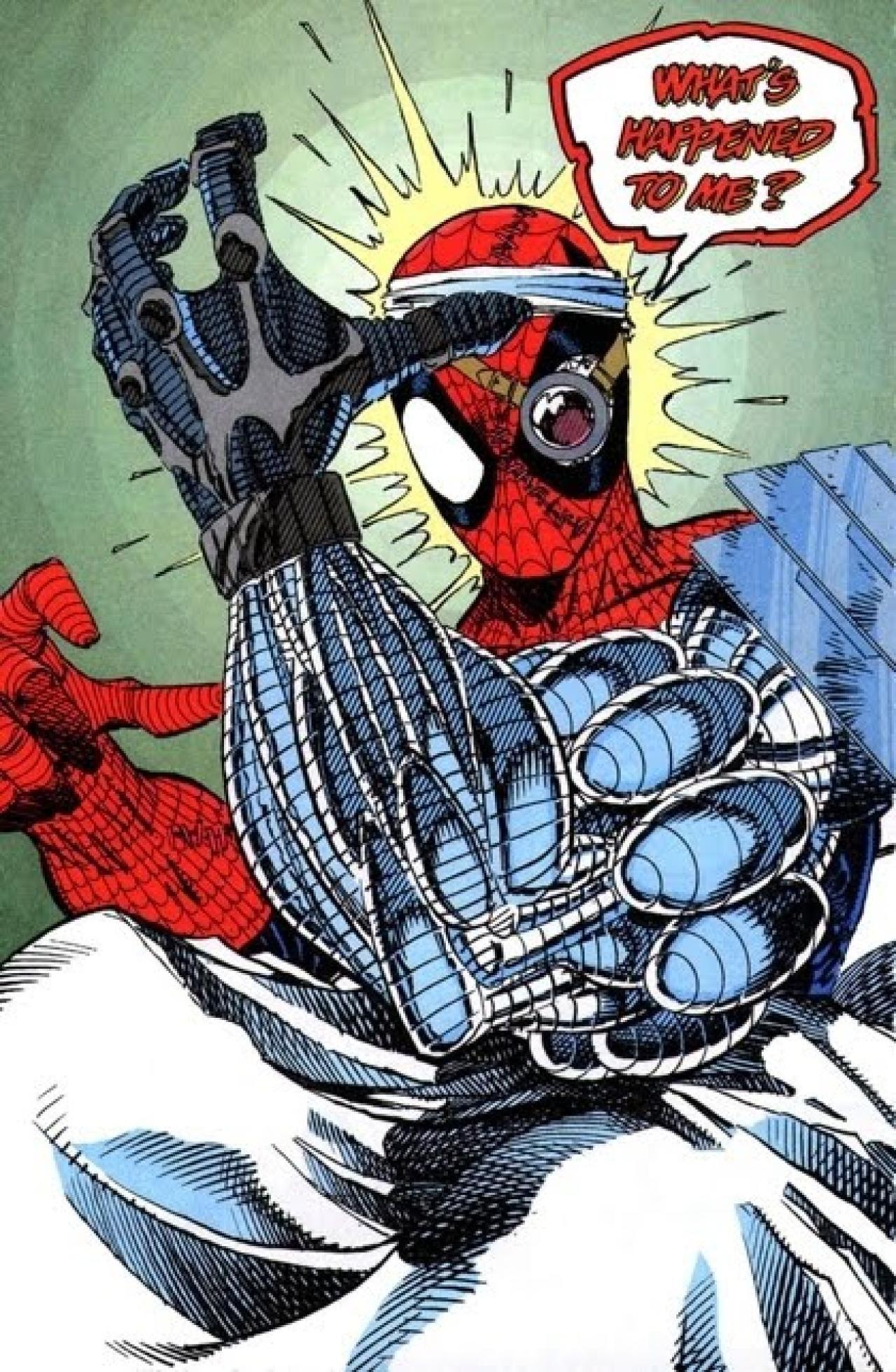 Cyborg spider man 1992 spider man spiderman - Et spider man ...