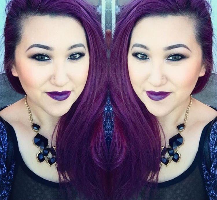 Diy Purple Hair Color Vidal Sassoon Pro Series London Lilac At