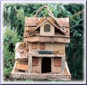 Fabrication de mangeoire pour oiseaux du abris oiseaux - Plan de mangeoire pour oiseaux du jardin ...