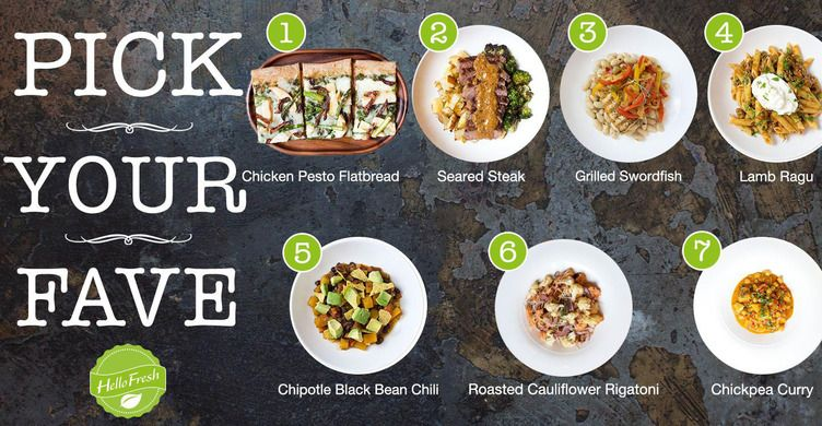 13 meal delivery companies so you never have to go to the for Order food to go