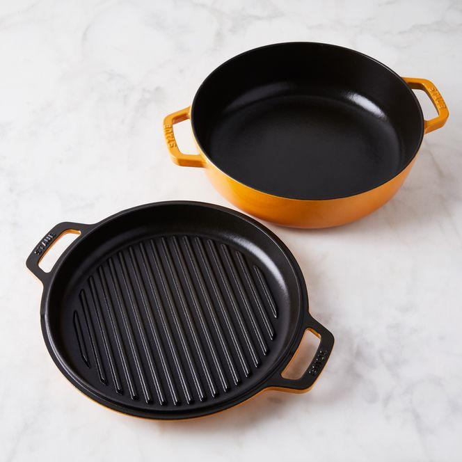 Food52 X Staub Turmeric Cookware Collection Food 52 Staub Cookware Enameled Cast Iron Cookware