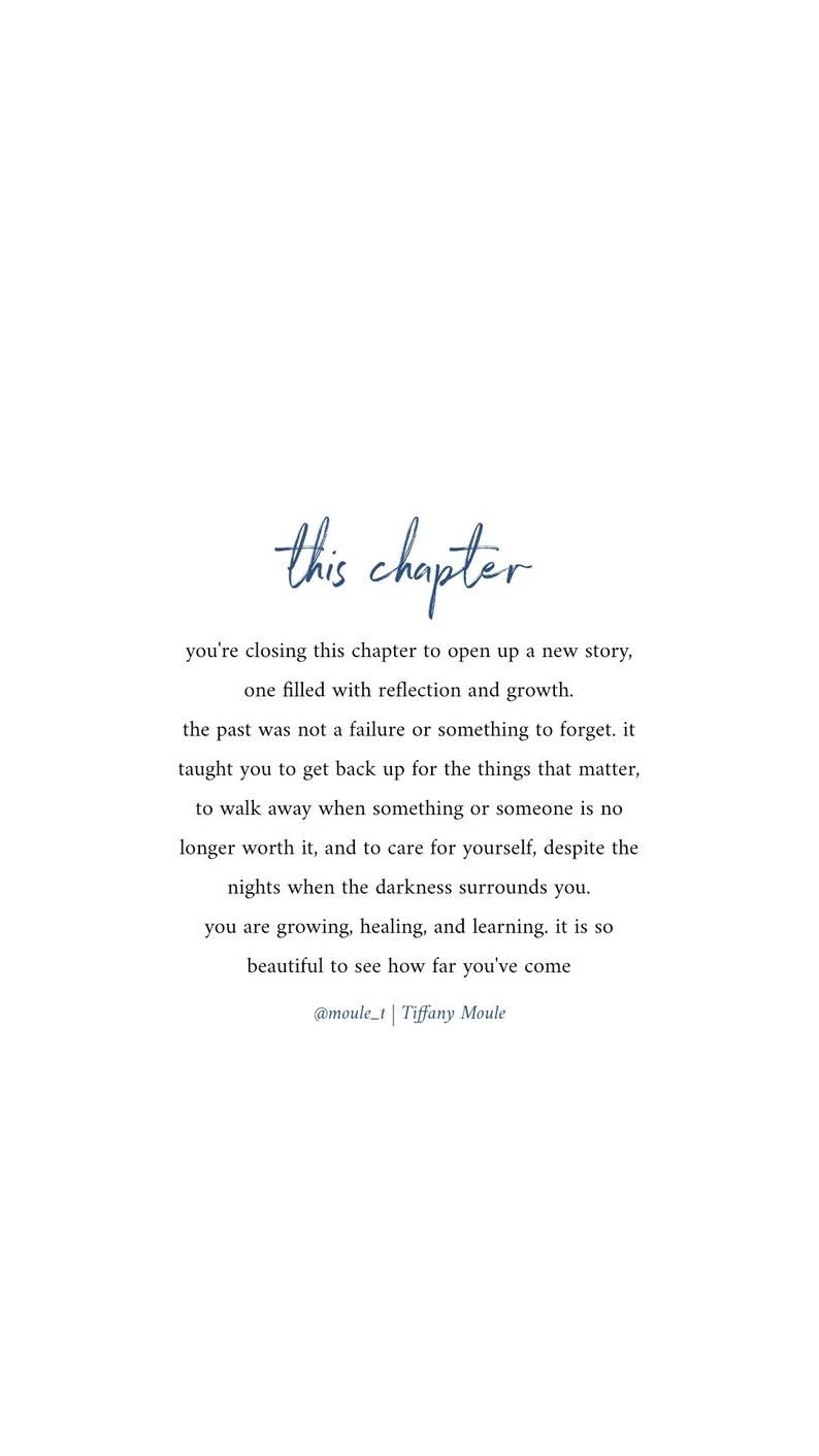 This Chapter Quote by Tiffany Moule