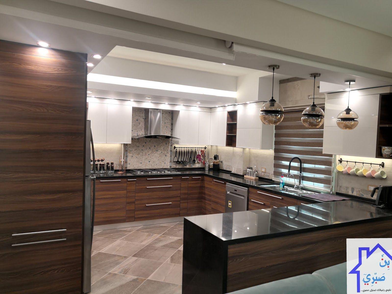 أنواع 7 مطابخ مودرن حسب المساحة صور واقعية مطابخ بن صبري Room Design Bedroom Modern Kitchen Bedroom Design
