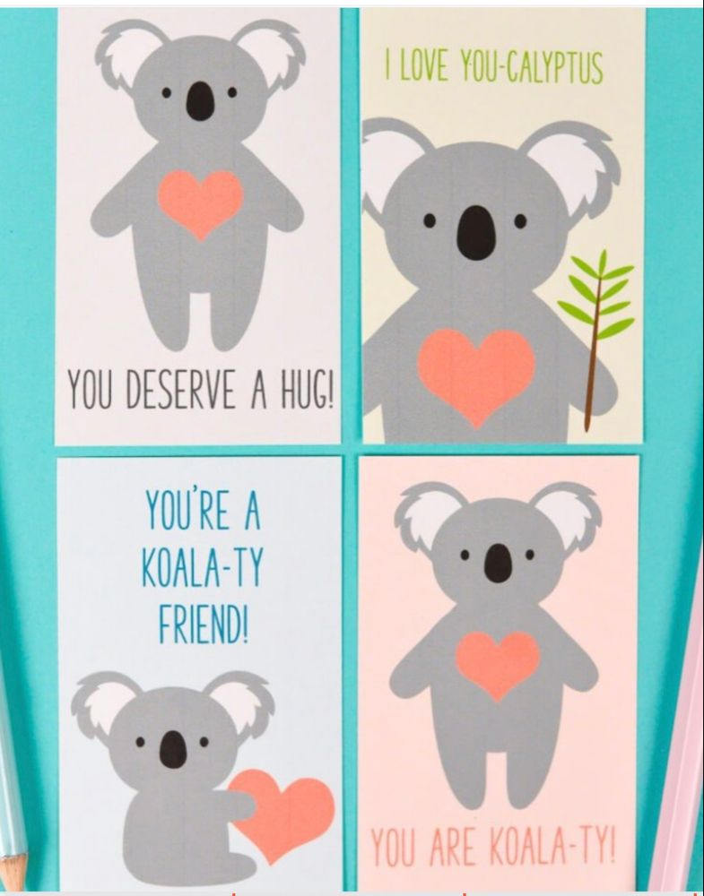 Pin By Sandy Conard On Valentine Cookies Friends Valentines Animal Valentine Cards Friend Valentine Card