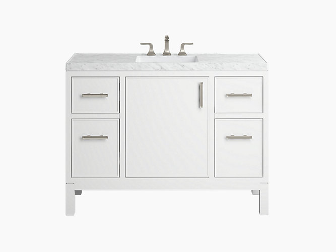 K R81119 Asb Rubicon 48 Vanity With Top And Sink Kohler In