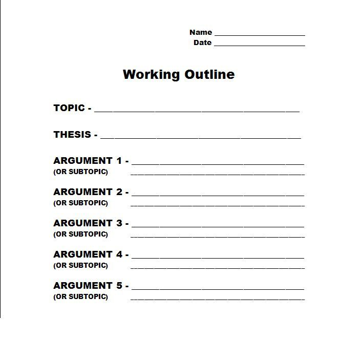 Writing A Thesis Statement Examples: Writing A Thesis Statement For A Position Paper. A Free