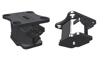 One Up Offroad Blocks - For All 3 Inch Wide Springs