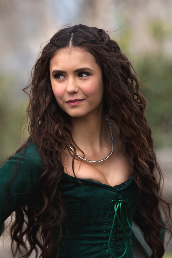 Photo of Vampire Diaries Nina Dobrev Classic and Beautiful Top Quality Heat Resistant Lace Synthetic Wig 24 Inches