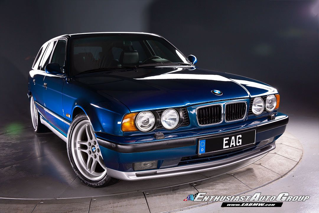 Video This 1994 Bmw E34 M5 Touring Is Up For Grabs Probably