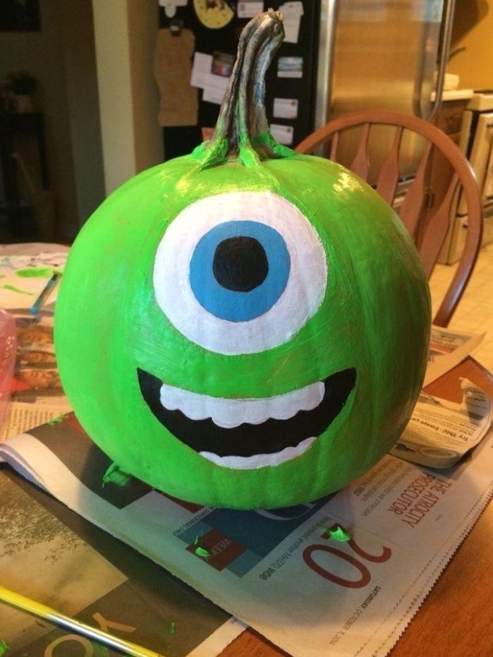 Monster's Inc Pumpkin Painting - WCCB Charlotte's CW