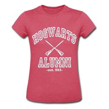 hogwarts alumni T-Shirt   Spreadshirt   ID: 12041965