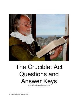 literary elements in the crucible