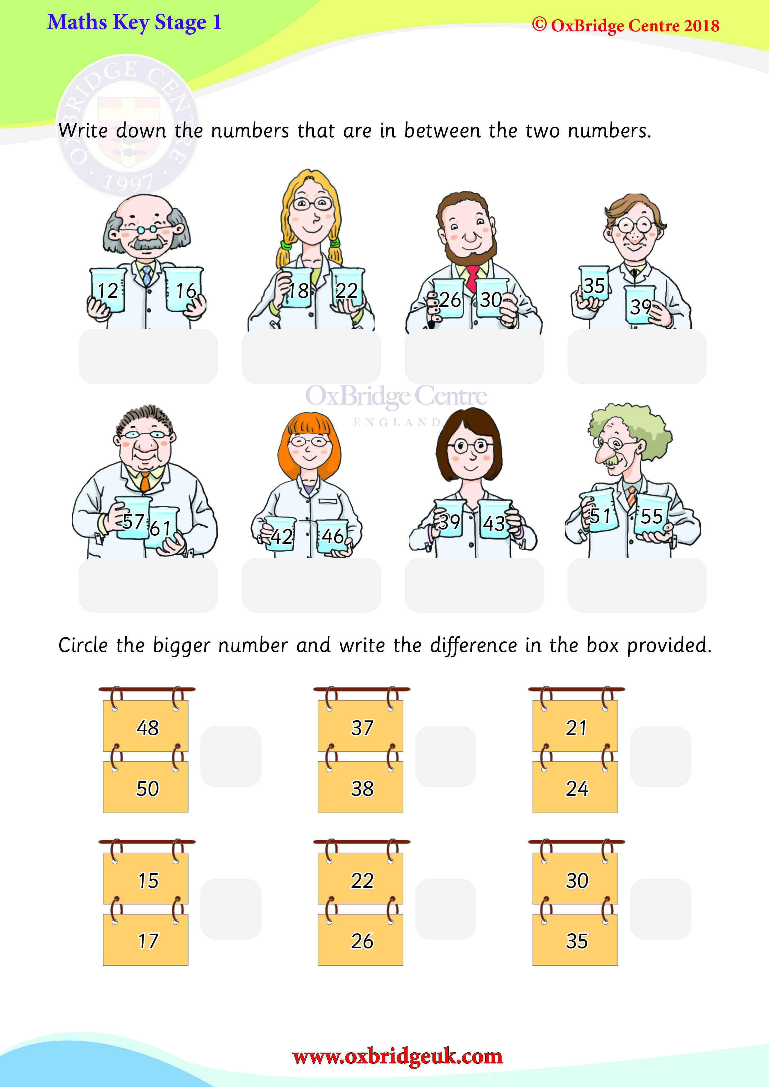 Number Sequences Ks1 Maths Math Ks1