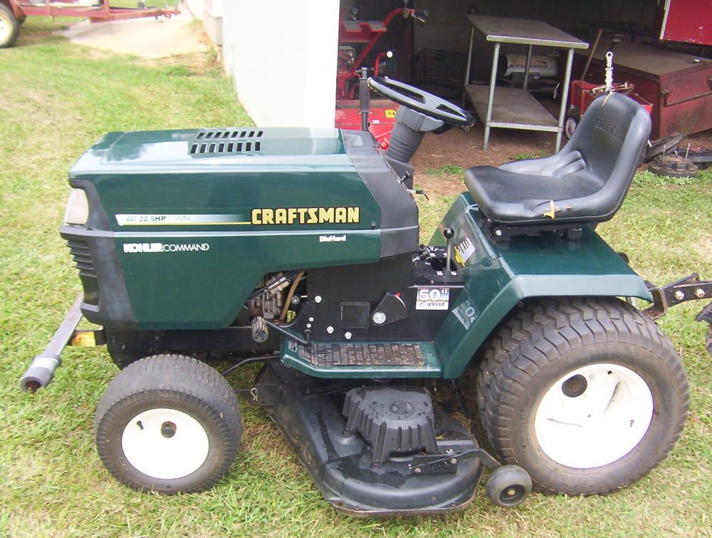 Old Craftsman Garden Tractors : Old sears garden tractor attachments fasci