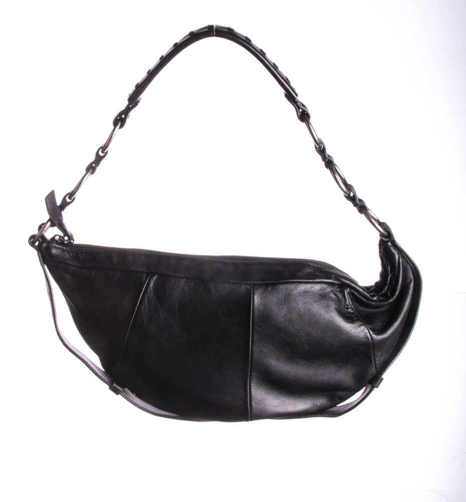 7b5fdb8f24 YVES SAINT LAURENT Black Leather Hobo Bag  fashion  clothing  shoes   accessories  womensbagshandbags (ebay link)