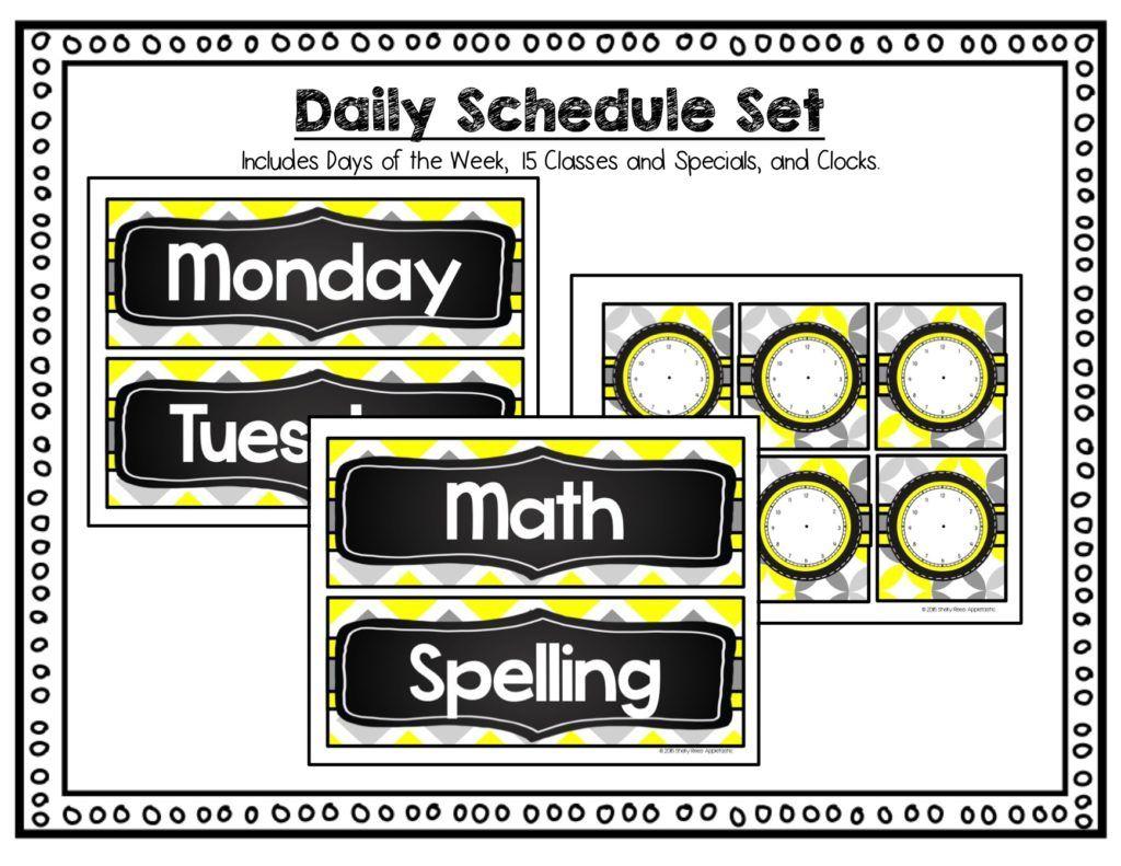 Sunshine And Chalkboard Classroom Decor