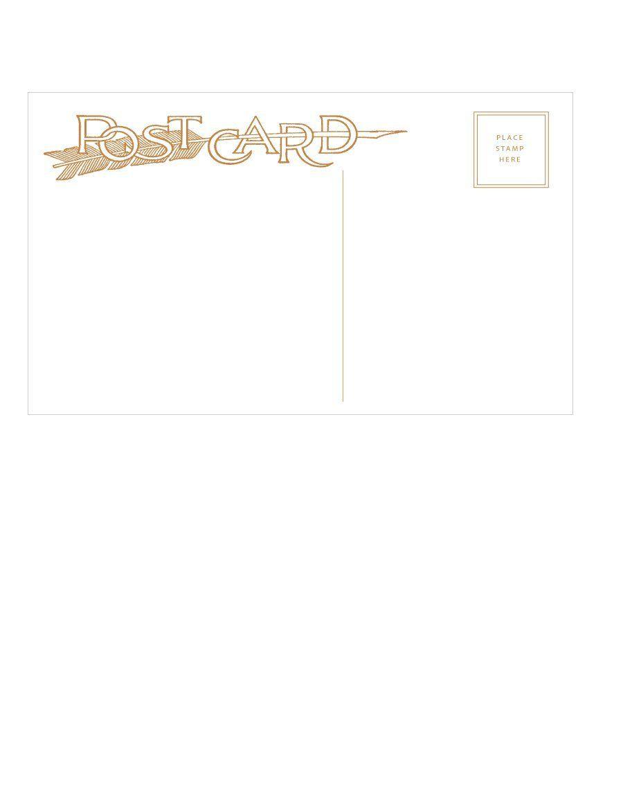Download Postcard Template 20 Postcard Template Postcard Postcard Template Free