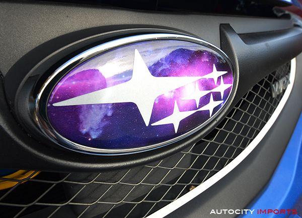 11-14 Subaru WRX (Sedan) Badge Overlays (Limited Edition