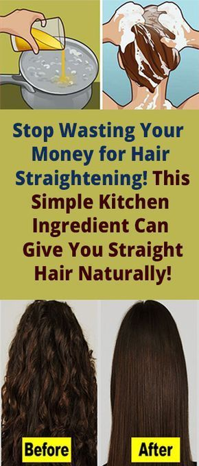 Stop Wasting Your Money For Hair Straightening This Simple Kitchen Ingredient Can G Straight Hair Tips Straightening Natural Hair Hair Straightening Treatment