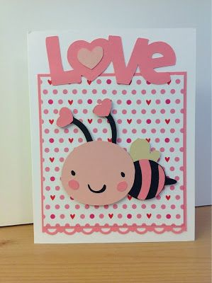 Love And Bee From Cac 2 Cricut Create A Critter Pinterest