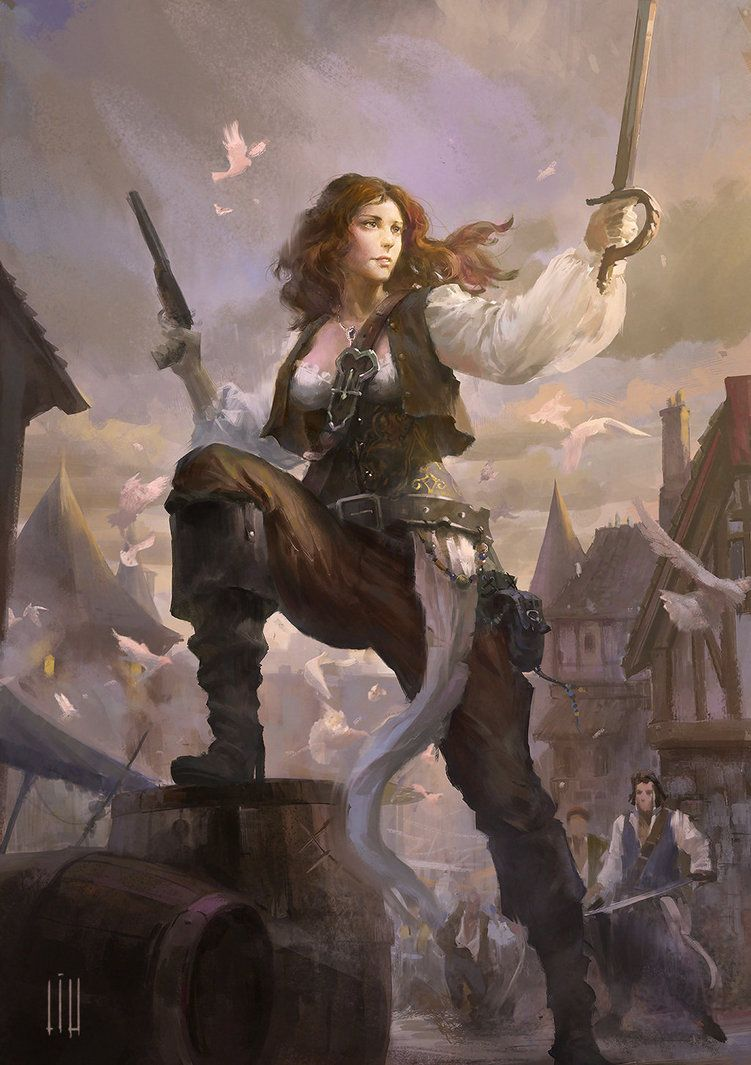 Women Fantasy pirate