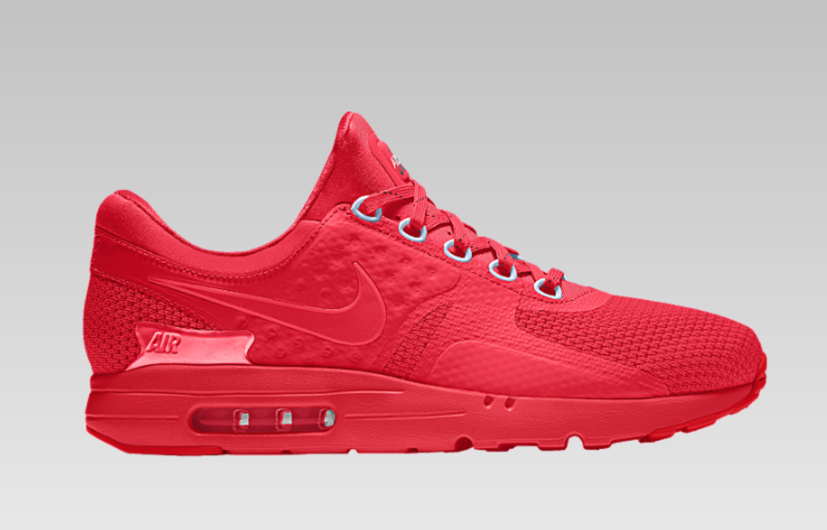You Can Create Your Own Nike Air Max Zero On NIKEiD Now