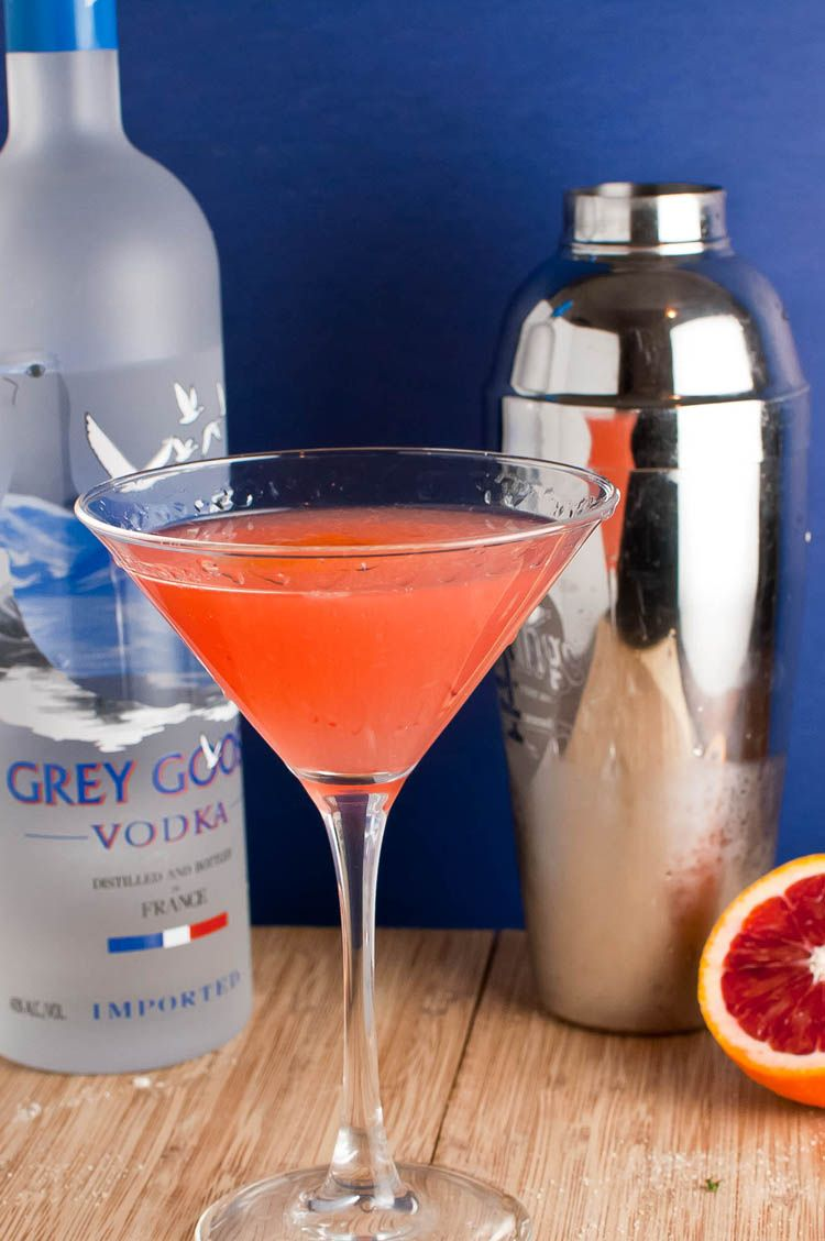 Blood Orange Vodka Martini - my next drink to make! I may ...