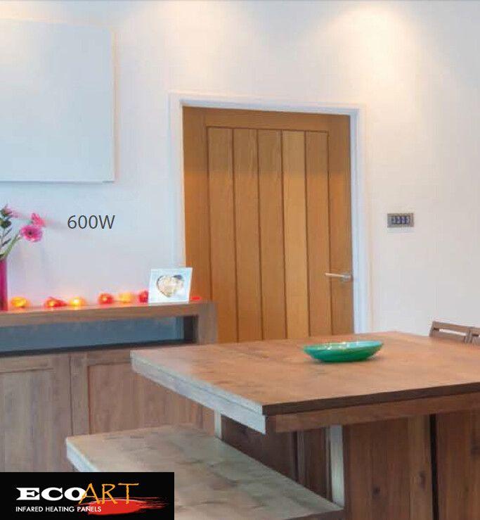 Gratis Verzending 600 W Livingroom Wandmontage elektrische Infrarood verwarming Paneel