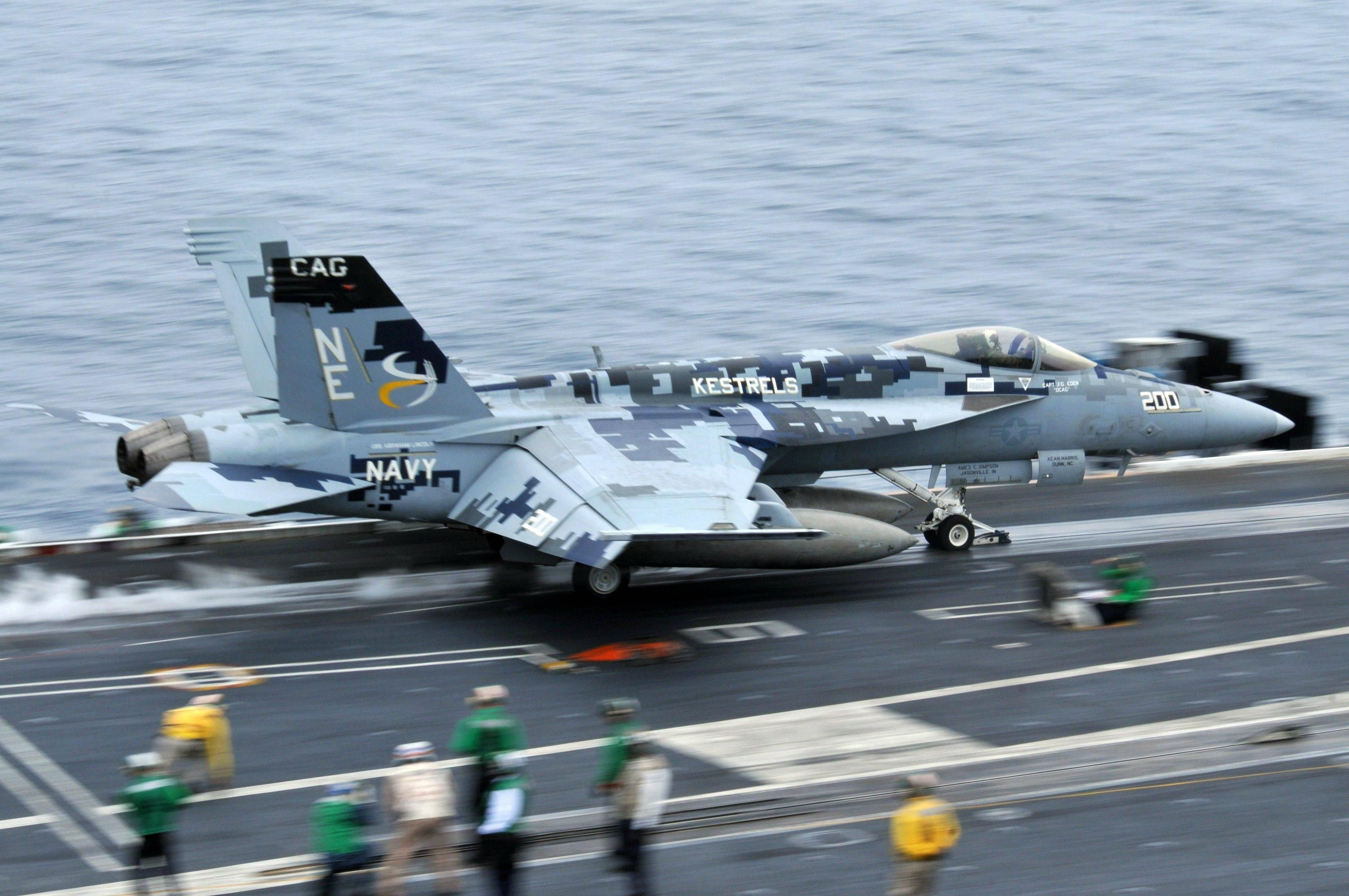 Another cool Super Hornet camo scheme.