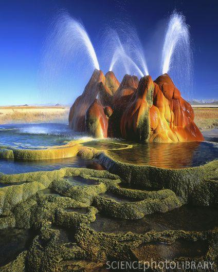 Fly Ranch Geyser Gerlach Nevada Viajes The Globe