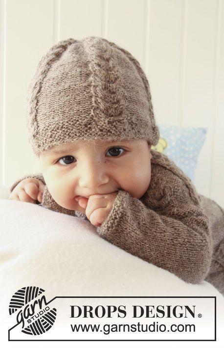 Patrón gratuito de punto | Punto bebe | Pinterest | Patrones, Puntos ...