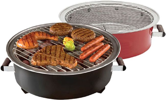Sweet Review : Go Grill Portable Charcoal Grill (Red)