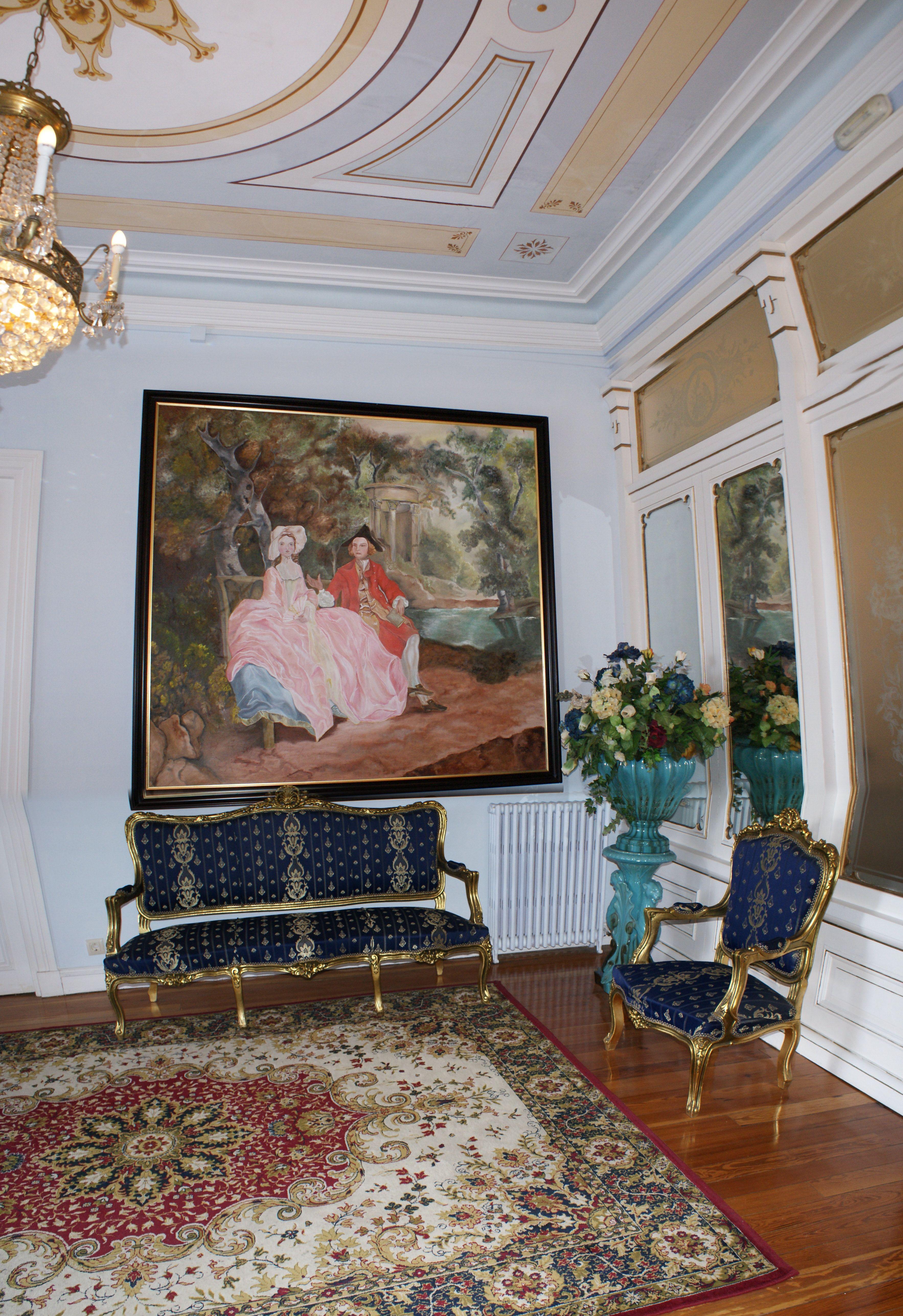 Recepci N Hotel Villa La Argentina Indianos Casas Pinterest  # Muebles Luarca Asturias
