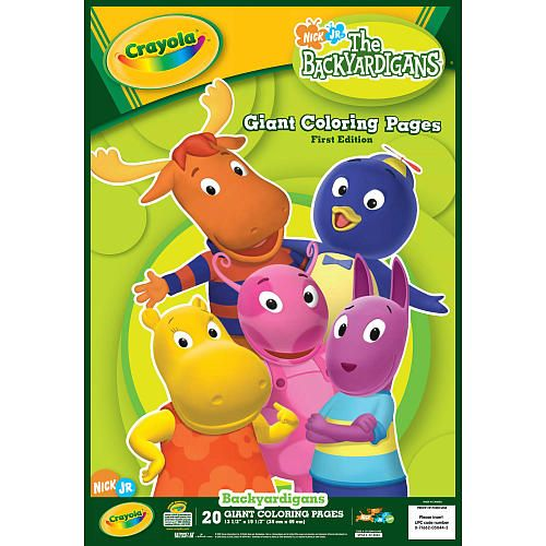 Crayola Giant Coloring Pages - The Backyardigans - Crayola - Toys \