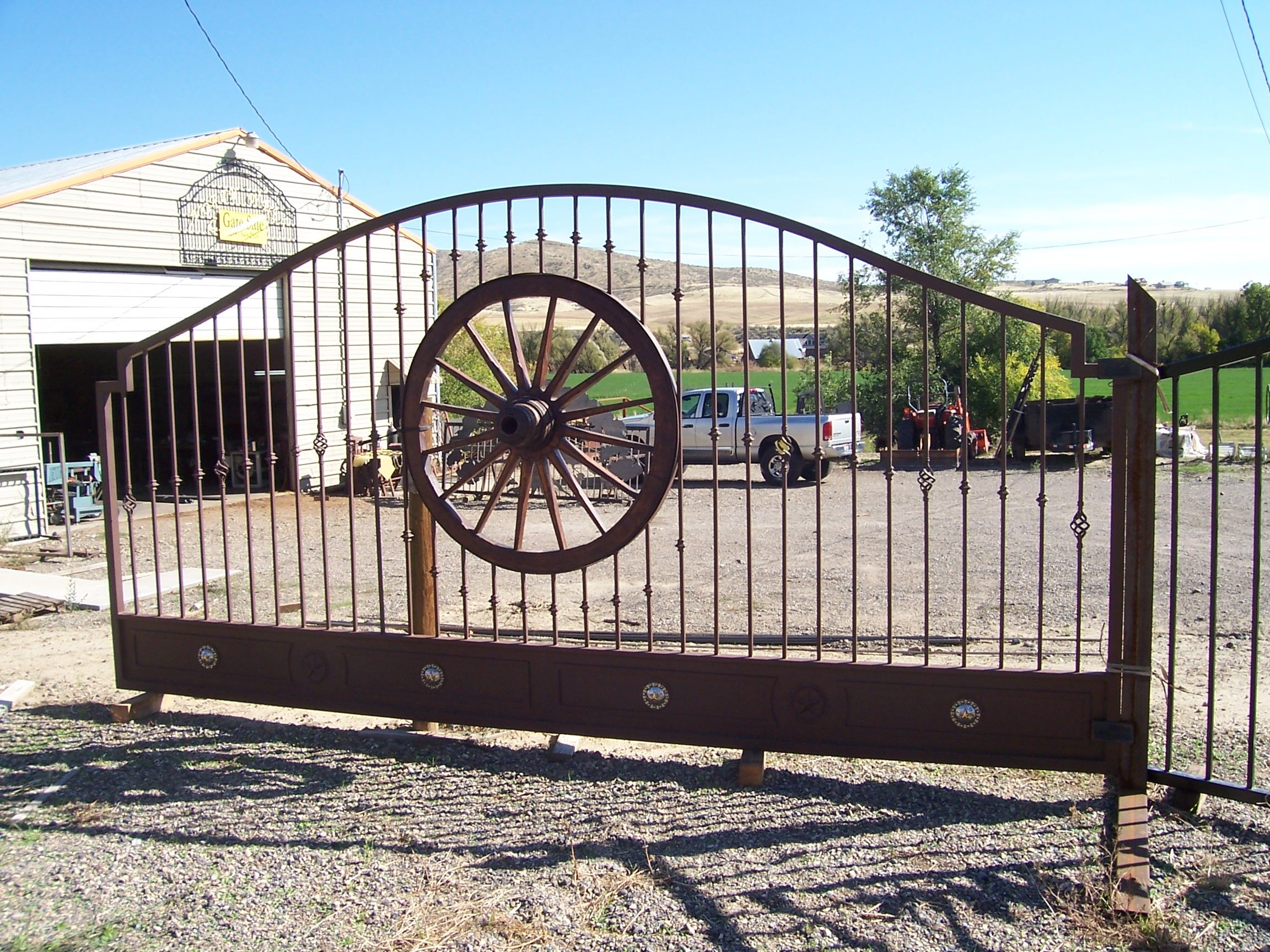industries decorative fencing wrought custom arizona decor decoration panels dcs iron pin