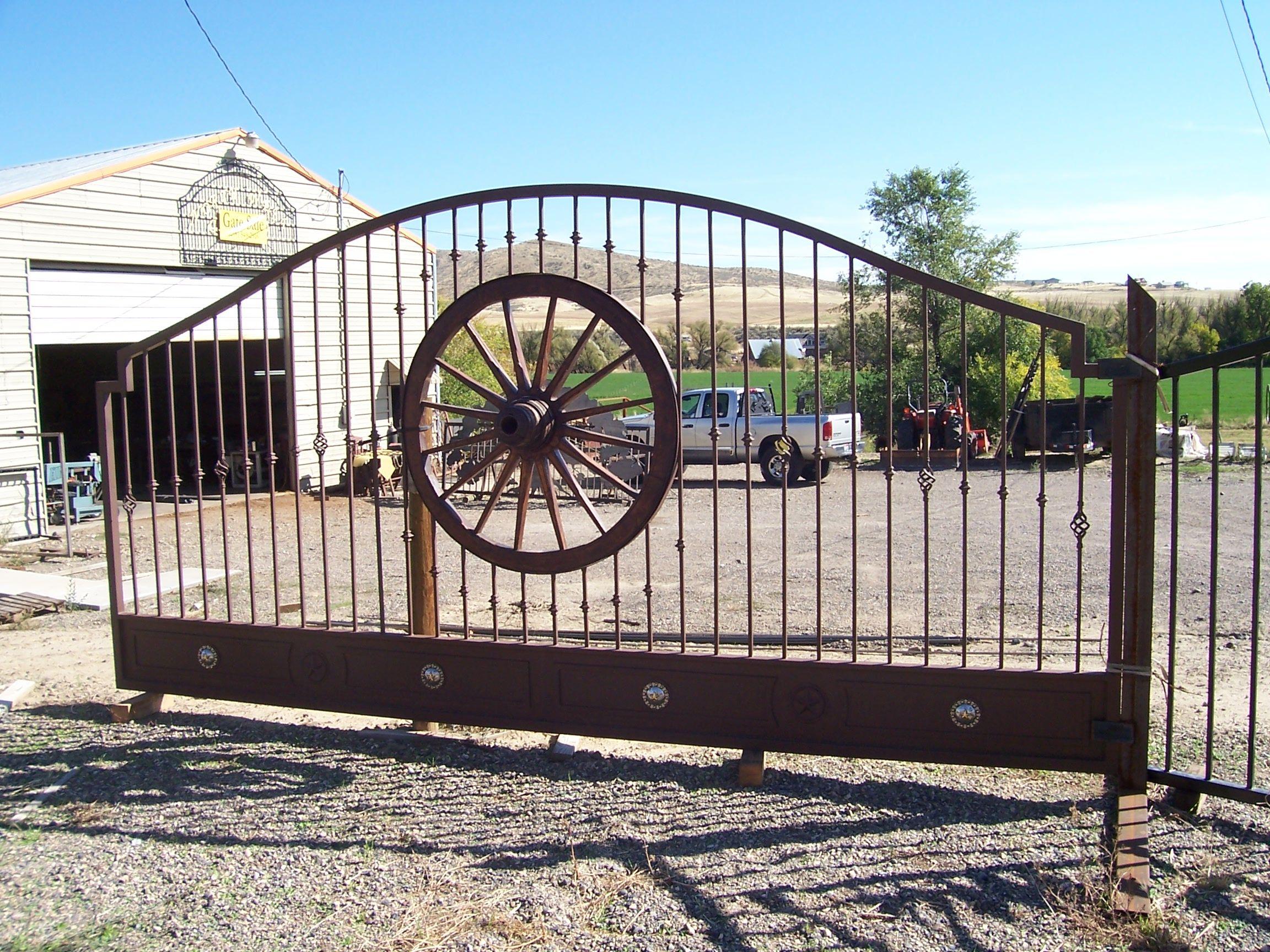 Security gates iron works custom wrought