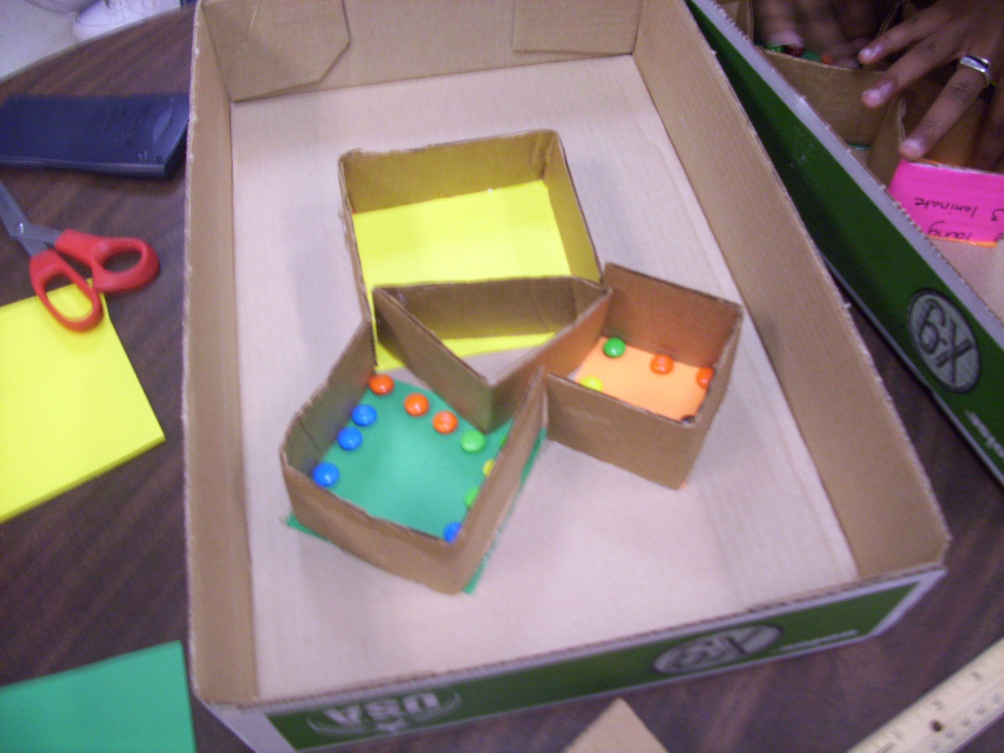 A 3d Model Of The Pythagorean Theorem My Students Task