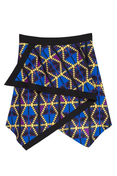 Tribal Zig-Zag Skirt