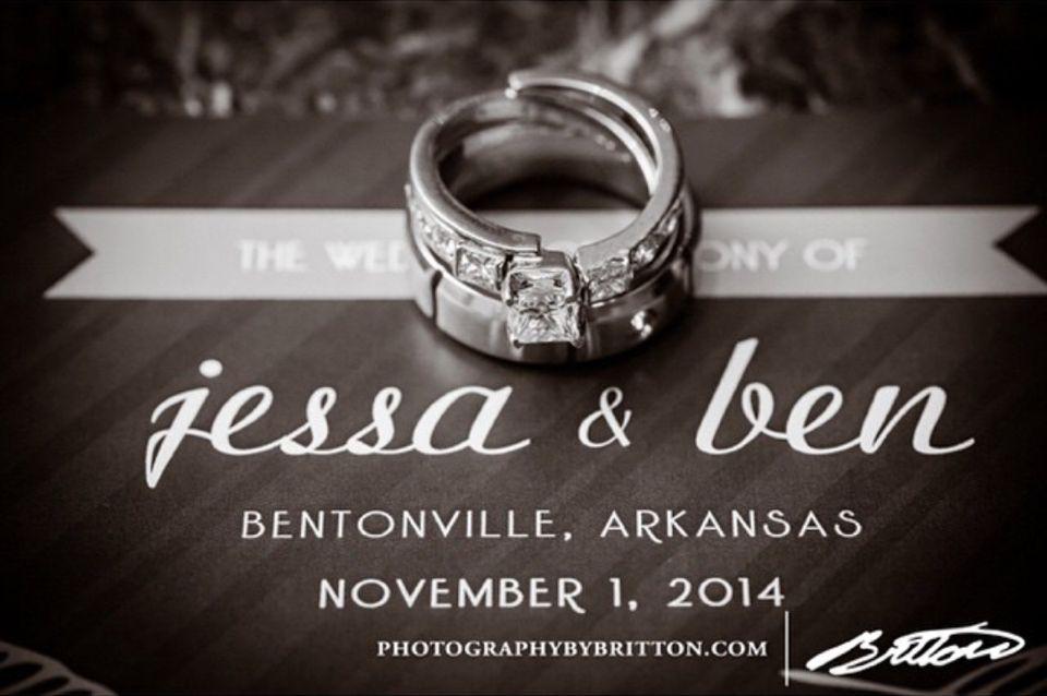 Jessa and Bens wedding rings Seewald Wedding Pinterest