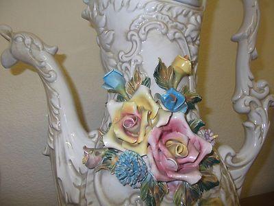 Antiques Collectibles Capodimonte Vase Capodimonte