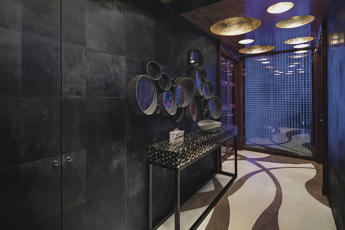 Alphenberg leather walls interiors leather wall