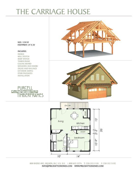 Can You Add A Second Story To A Small Bungalow: Carriage House Plans, Garage Apartment Plans, Garage Design