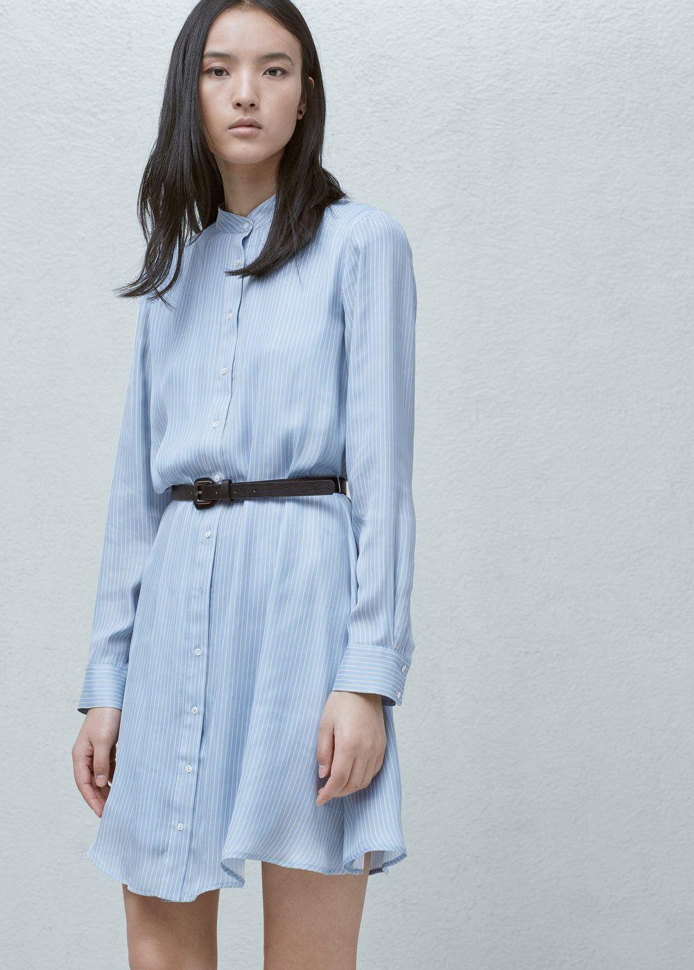 Robe chemisier à rayures - Femme   Fringues et access    Pinterest ... 797ae38dbb23
